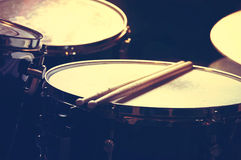 Drums conceptual image. Royalty Free Stock Photos