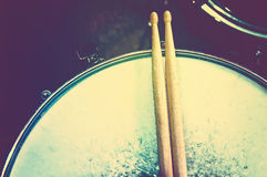 Drums conceptual image. Royalty Free Stock Photo