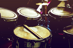 Drums conceptual image. Stock Photography