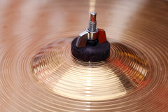 Drums, cymbals, close-up Royalty Free Stock Photo
