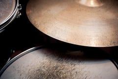 Drums detail in studio Stock Image