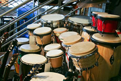 Drums and guitar Stock Photo