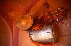drums himmel Arkivbilder