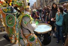 Drums joke Stock Image