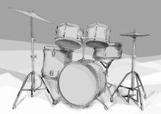 Drums kit Stock Photo