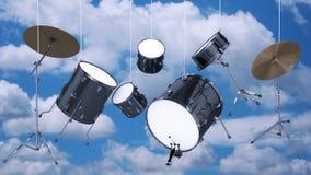 Drums musical tool Stock Photos