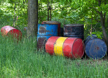 Drums in the nature royalty free stock images