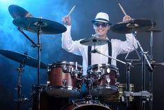 Drums player Stock Photos