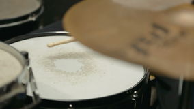 Drums Player stock footage