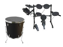 Drums set Stock Photo
