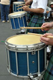 Drums at St Patrick's parade Stock Images