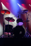 Drums on stage Royalty Free Stock Images