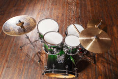 Drums top view Stock Image