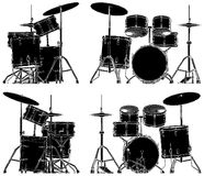 Drums Vector 04. Drums instrument Isolated Illustration Vector Royalty Free Stock Image