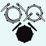 Drums. Vector Stock Photography