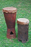 Drums of the Venda people of the Limpopo province. Stock Photos