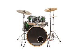 Drums on a white background Stock Images