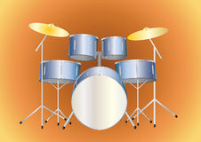 Drumset Royalty Free Stock Photography