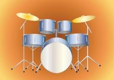 drumset Fotografia Royalty Free