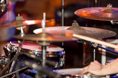 Drumset Στοκ Εικόνες