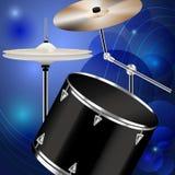 Drumset Στοκ Φωτογραφία