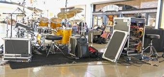 Drumset Photos libres de droits