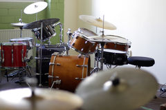 Drumset Stock Photo