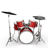 Drumset illustration Royalty Free Stock Photography