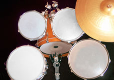Drumset. Symbolic image of a drumset Royalty Free Stock Images