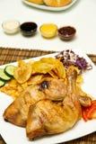 Drumstick цыпленка стоковое фото rf
