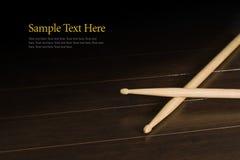 drumsticks деревянные Стоковое фото RF