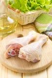 Drumsticks цыпленка Стоковое Изображение