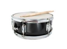 Барабанчик Drumsticks и тенет Стоковое Фото