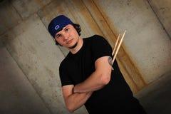 drumsticks mężczyzna potomstwa Fotografia Royalty Free