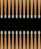 Drumsticks pattern Stock Photo