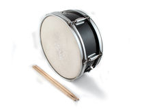 Drumsticks and Snare drum Royalty Free Stock Photography