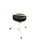 Drumsticks and stool Stock Photo