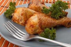 Drumstics del pollo Fotografia Stock