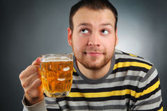 Drunk Royalty Free Stock Photo