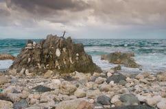 Drunk Bay Rocks Stock Images