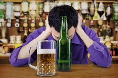 Drunk Businessman Royalty Free Stock Photography