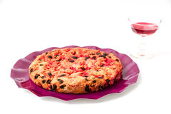 Drunk cake is a dessert from Elba island Royalty Free Stock Image