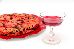 Drunk cake is a dessert from Elba island Stock Photography