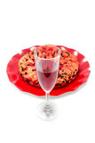 Drunk cake is a dessert from Elba island Stock Images
