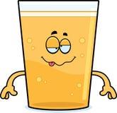 Drunk Cartoon Beer Royalty Free Stock Image