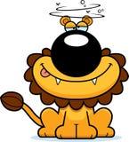 Drunk Cartoon Lion Stock Photo