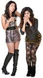 Drunk Club Girls Royalty Free Stock Photos