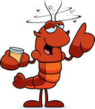 Drunk Crawfish Royalty Free Stock Image