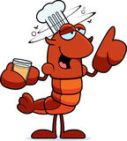 Drunk Crawfish Chef Royalty Free Stock Photography