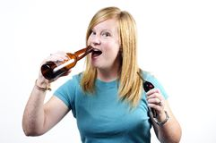 Drunk driver Stock Photography